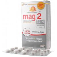 Complément alimentaire magnésium marin 24h mag2 Cooper - boite de 45 comprimés