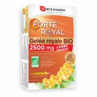 Forté Royal - Gelée Royale Bio 2500mg, 20 ampoules