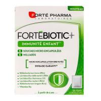 Fortebiotic+ immunité enfant 14 sachets