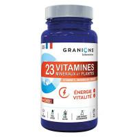 23 Vitamines Minéraux et Plantes 90 Comprimés