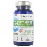 24 Vitamines Minéraux et Plantes Sénior 90 Comprimés