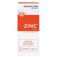 Zinc 15 mg 60 Gélules