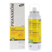 AROMAPIC Spray anti-moustique répulsif Bio  Spray de 100 ml