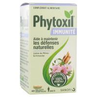Phytoxil Immunité 40 Gélules Végétales