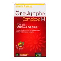 Circulymphe Complexe H vaisseaux sanguins 20 sticks