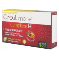 Circulymphe Complexe H 10 Suppositoires