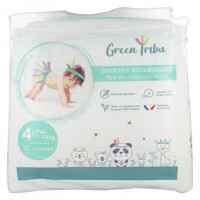 Couches Ecologiques 22 Couches Taille 4 (7-18 kg)