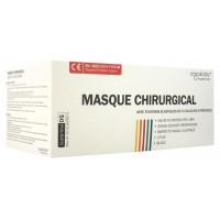 Masque Chirurgical Avec Fixations Élastiques de 5 Couleurs Différentes 50 Masques