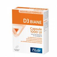 D3 BIANE 1000UI 30 CAPSULES MARINES