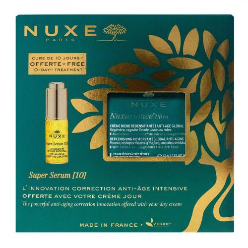 Coffret Nuxuriance Ultra crème riche 50ml + super sérum offert