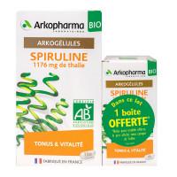 Arkogélules spiruline bio tonus vitalité 150 gélules
