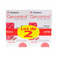 Cys-control Gélules Lot de 2 x 20...