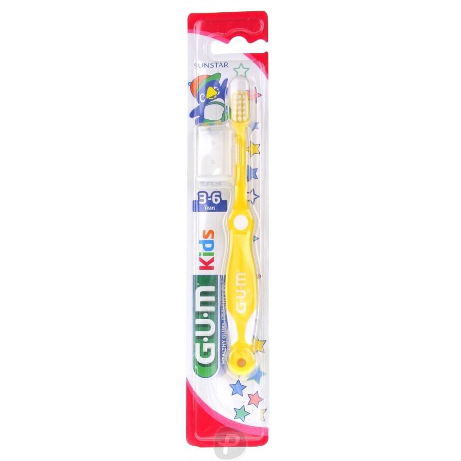 gum kids brosse dents 3 6 ans 214 pharma360. Black Bedroom Furniture Sets. Home Design Ideas