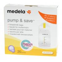 Sachets pour lait maternel Pum & Save