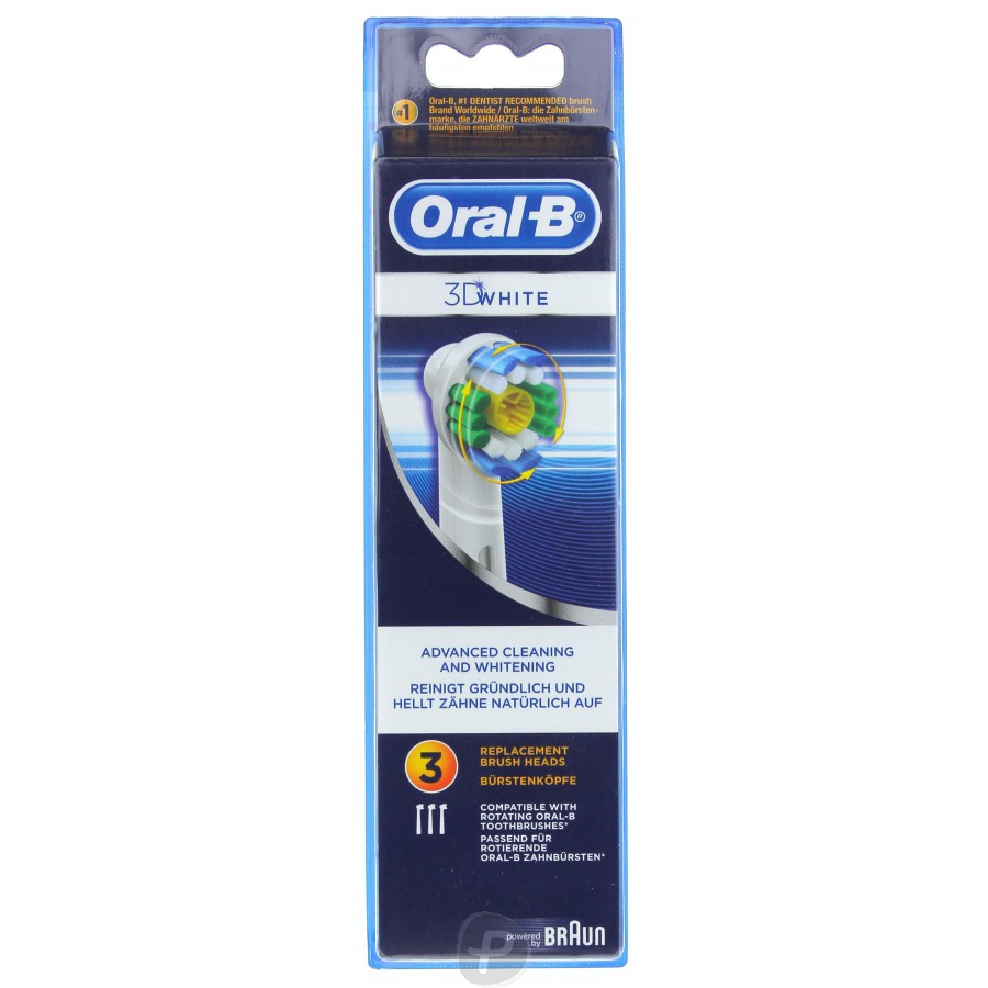 oral b 3 brossettes 3d white pharma360. Black Bedroom Furniture Sets. Home Design Ideas