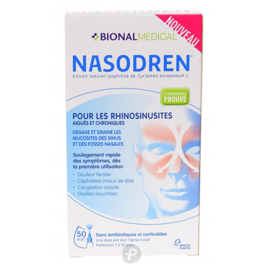 BIONAL MEDICAL - NASODREN Spray nasal Rhino-Sinusite