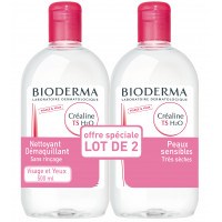 CREALINE TS H2O - Lot de 2 x 500 ml