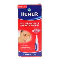 HUMER Spray nasal Nez très bouché,...