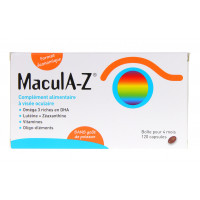 Macula -Z 120 capsules pour 4 mois