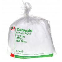 Cotopads rectangles de coton 8x10...