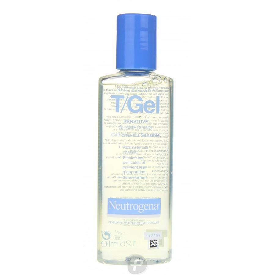 neutrogena t gel sensitive shampooing antipelliculaire cuir chevelu sensible pharma360. Black Bedroom Furniture Sets. Home Design Ideas