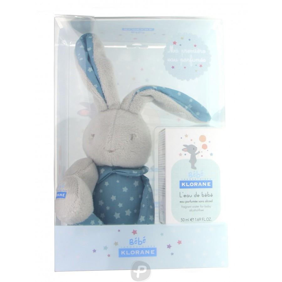 Klorane coffret lapin gar on eau de b b 50 ml pharma360 - Eau de cuisson des carottes pour bebe ...