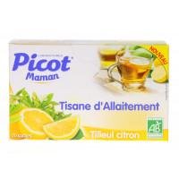 Tisane d'Allaitement Tilleul Citron
