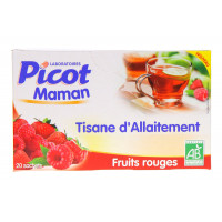 Tisane d'Allaitement Fruits rouges