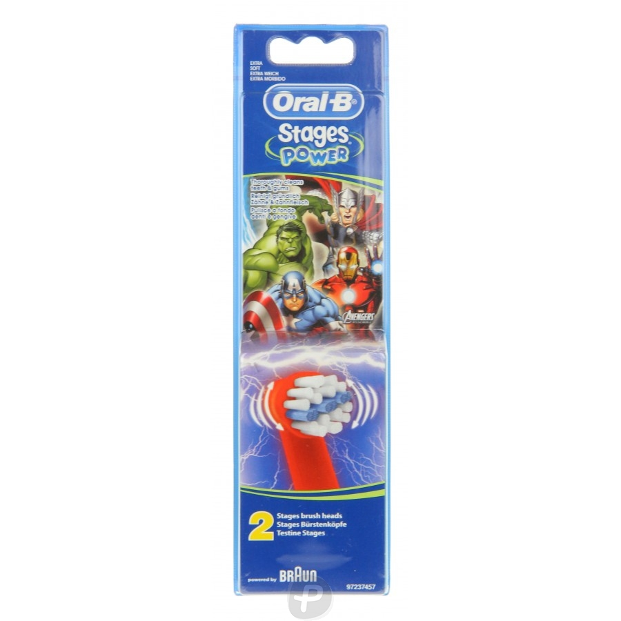 oral b brossettes avengers kids stage power pharma360. Black Bedroom Furniture Sets. Home Design Ideas