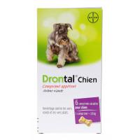 Drontal Chien Vermifuge 6 Comprimés