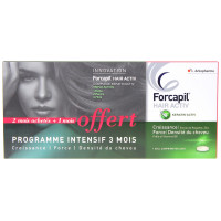 Forcapil Hair Activ 3 Mois Lot de...