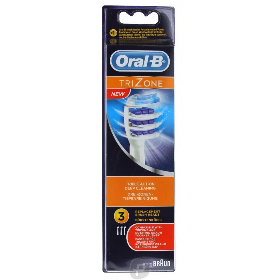 oral b 3 brossettes trizone pharma360. Black Bedroom Furniture Sets. Home Design Ideas