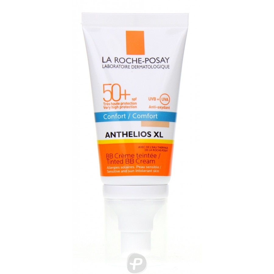 la roche posay anthelios xl bb cr me teint e confort spf 50 pharma360. Black Bedroom Furniture Sets. Home Design Ideas