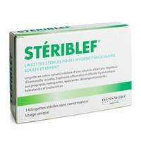Stériblef Lingettes Hygiène Occulaire