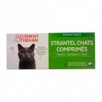 Strantel Chat Vermifuge 2 Comprimés