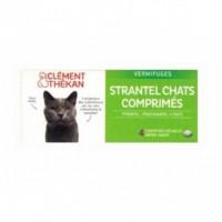 Strantel Chat Vermifuge 4 Comprimés