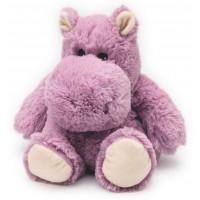 Hippo Rose Cozy Peluche Bouillotte