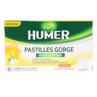Humer Pastilles Gorge Thym