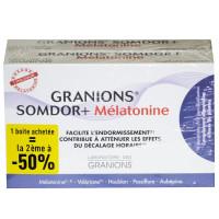 SOMDOR+ Mélatonine Lot de 2