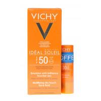 IDEAL SOLEIL Emulsion Visage SPF50...