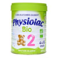 Lait Physiolac BIO 2ème âge