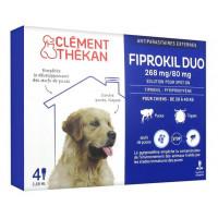 Fiprokil Duo Chien 20 - 40 Kg 4...