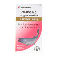 Arkogélules Oméga 3, origine...