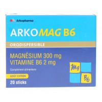 Arkomag B6 orodispersible Magnésium