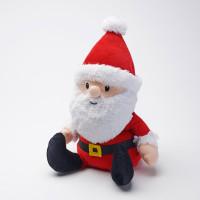 Père Noël Peluche Bouillotte