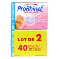 2 x 20 Embouts Jetables pour...