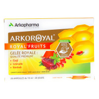 Arko Royal Royal'Fruits 20 Ampoules