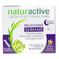 Sériane Mélatonine 20 Sticks