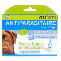 Antiparasitaire Insectifuge Grand...