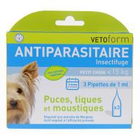 Antiparasitaire Petit chien 3...